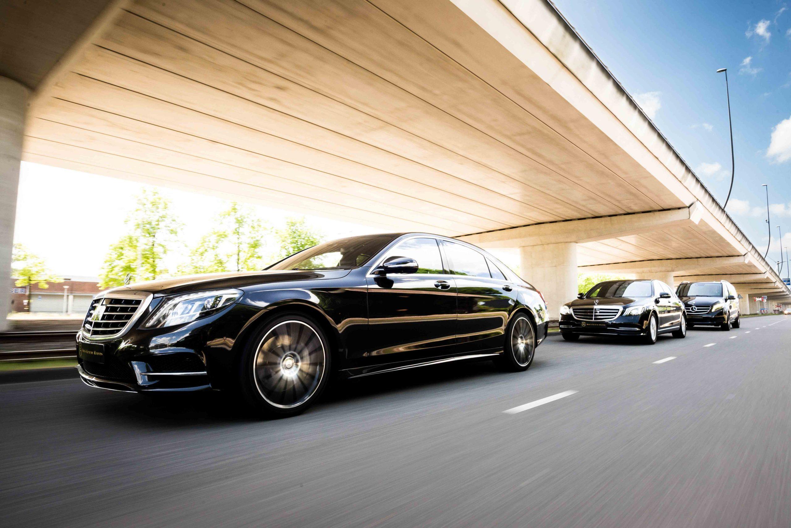 Rolling Shot Mercedes Benz